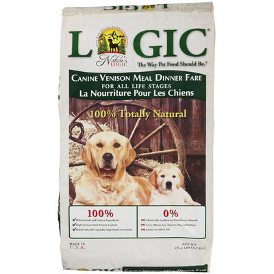 Nature's Logic Dry Dog Food - Venison