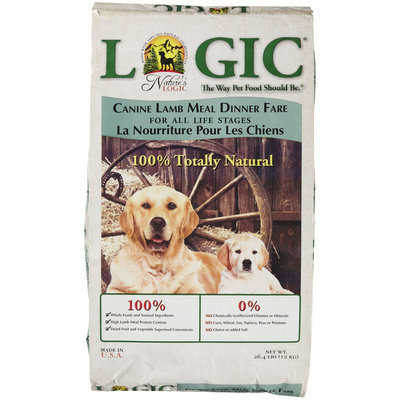 Super-dog Pet Food Company Natures Logic Natural Lamb Dry Dog Food 26.4lb