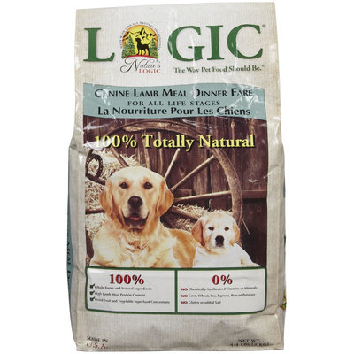 Nature's Logic Dry Dog Food - Lamb