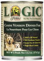 Nature's Logic Canned Food - Venison - 12 x 13.2 oz