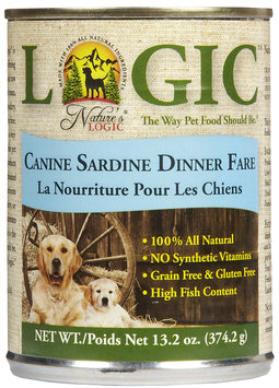 Nature's Logic Canned Food - Sardine - 12 x 13.2 oz