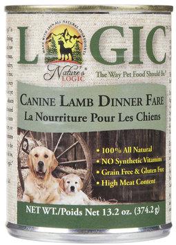 Nature's Logic Canned Dog Lamb 13.2 oz