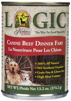 Nature's Logic Canned Dog Beef 13.2 oz