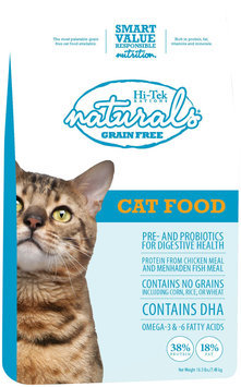 Hi-Tek Rations 38NGFCAT16.5 Naturals Grain Free Cat Food 16.5 Pounds