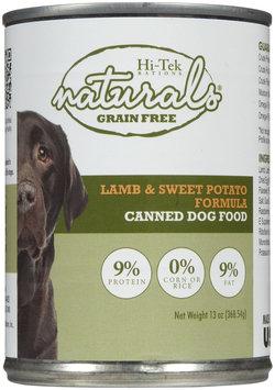 Hi-Tek Rations Naturals Grain Free Lamb and Sweet Potato Canned Formula Dog Food (12-Pack) NGFLAMB13OZ