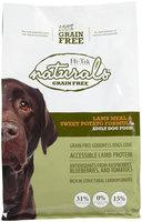Hi-Tek Rations Naturals Adult Grain Free Lamb and Sweet Potato Dry Dog Food (5 lb. Bag) 31NGF5