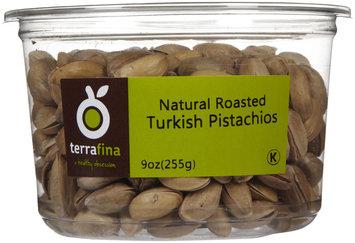 Terrafina Turkish Pistachios Natural-9 oz-Container