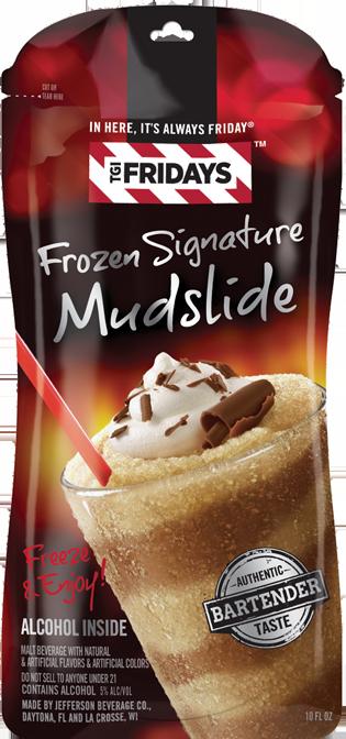 TGI Fridays Frozen Signature Mudslide