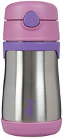 Foogo by Thermos Leak-Proof Stainless Steel 10oz Straw Bottle in Pink