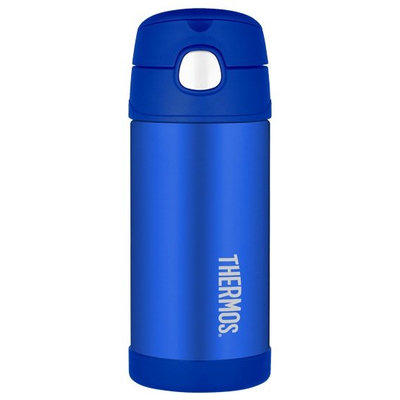 Thermos Funtainer Straw Bottle - Blue - 12 oz