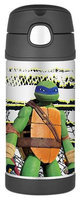 Thermos Character Funtainer Straw Bottle - Teenage Mutant Ninja Turtles - 12 oz