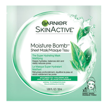 Garnier SkinActive Moisture Bomb The Super Hydrating Mattifying Sheet Mask