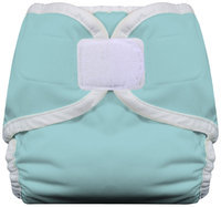 Thirsties Diaper Cover with Hook and Loop Size: Large, Color: Aqua