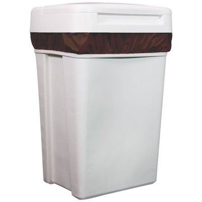 Thirsties Diaper Pail Liner - Mud