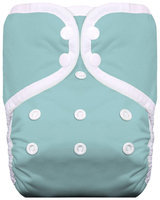 Thirsties One Size Snap Pocket Diaper - Acqua
