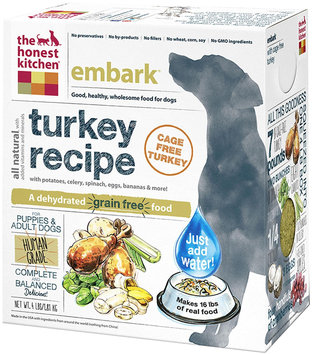 Honest Kitchen Embark Dehydrated Dog Food 4 lbs