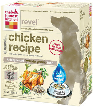 The Honest Kitchen Revel Chicken & Whole Grain Dog Food - 2 lb