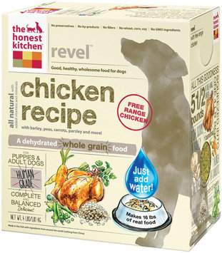 Honest Kitchen Revel Dehydrated Dog Food 4 lbs