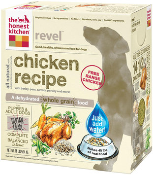 Honest Kitchen Revel Dehydrated Dog Food 10 lbs
