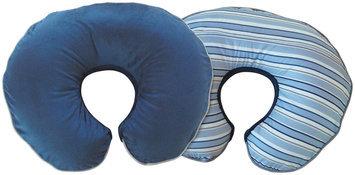 Boppy Luxe Slipcover in Navy Stripe