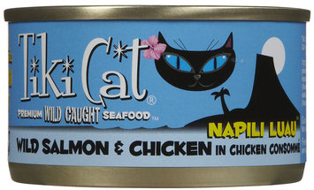 Tiki 759028 Tiki Cat Napili Salmon 12-2.8 Oz. Pack of 12