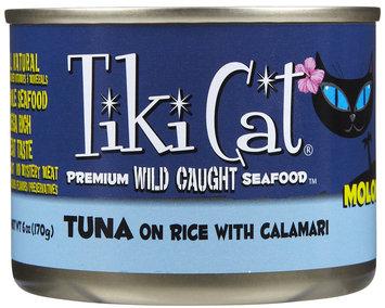 Tiki Cat Molokai Luau Tuna On Rice with Calamari