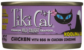 Tiki Cat Koolina Luau Chicken with Egg In Chicken Consomme