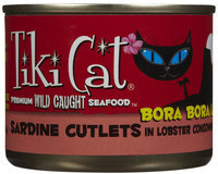 Tiki Cat Bora Bora Luau Sardine Cutlets in Lobster Consomme