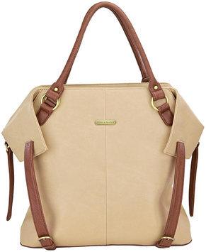 Timi & Leslie Charlie II Convertible Diaper Bag Color: Sand/Cinnamon