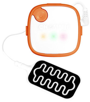 Chummie Bedwetting Alarm with 5 Tones, Vibration and Lights- Orange - 1 ct.