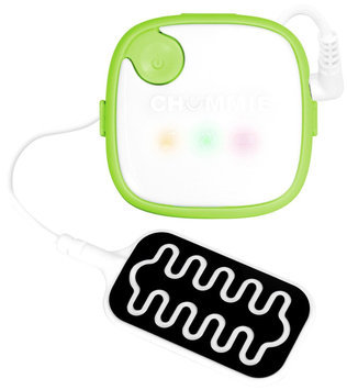 Chummie Bedwetting Alarm with 5 Tones, Vibration and Lights- Green - 1 ct.
