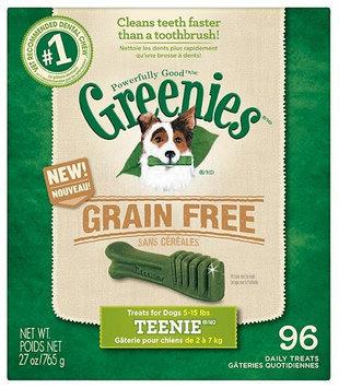 Greenies Grain Free Dental Chews 10.13lb Teenie (6 x 27oz)