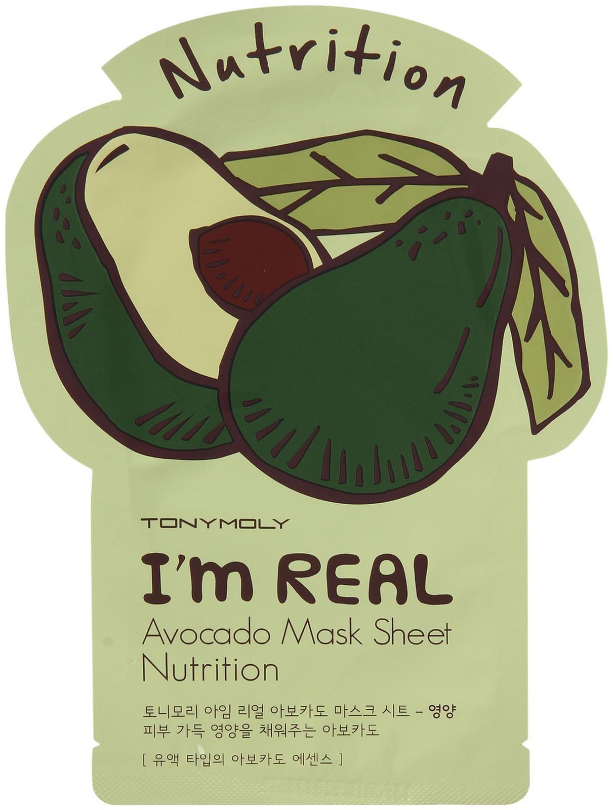TONYMOLY I'm Real Avocado Mask Sheet