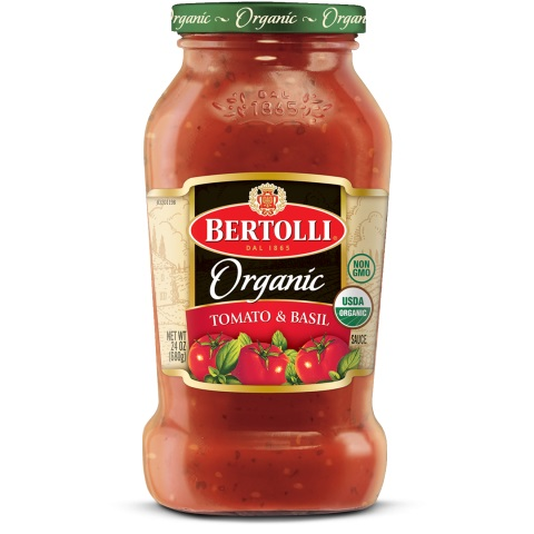 Bertolli® Organic Traditional Tomato & Basil Sauce