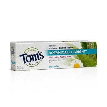 Tom's OF MAINE Spearmint Fluoride-Free Botanically Bright® Toothpaste