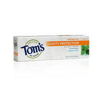 Tom's OF MAINE Peppermint Baking Soda Cavity Protection Natural Toothpaste