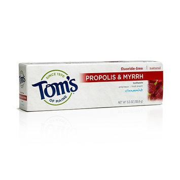 Tom's OF MAINE Fluoride-Free Propolis & Myrrh Toothpaste Cinnamint