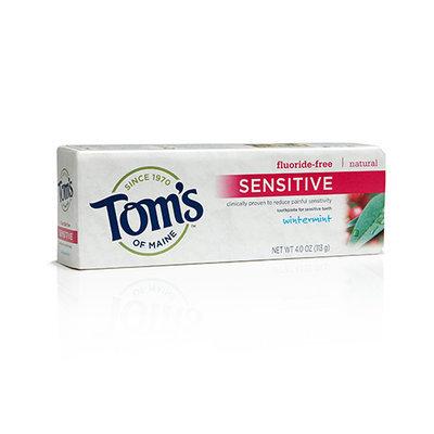 Tom's of Maine's Fluoride-Free Sensitive Toothpaste