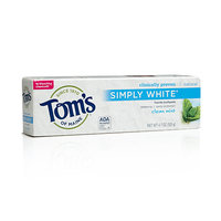 Tom's OF MAINE Clean Mint Simply White® Toothpaste