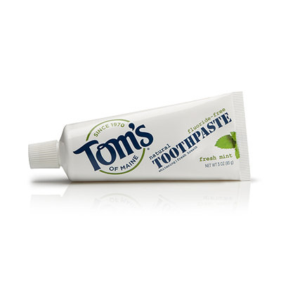 Tom's OF MAINE Fluoride-Free Travel Natural Toothpaste