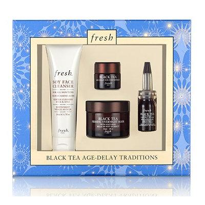 fresh Black Tea Age Delay Traditions