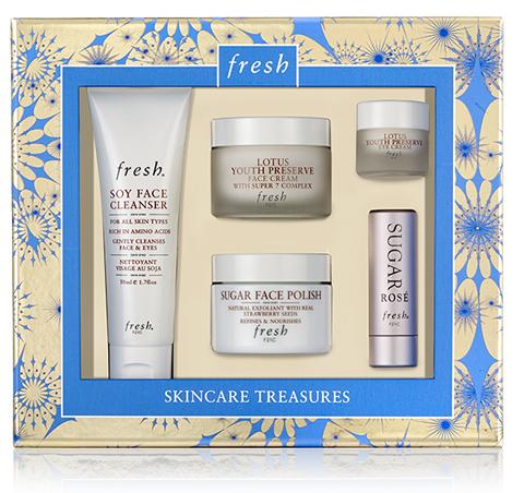 Slide: fresh Skincare Treasures