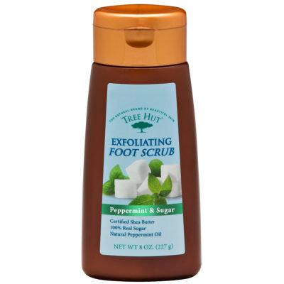 Tree Hut Peppermint & Sugar Exfoliating Foot Scrub