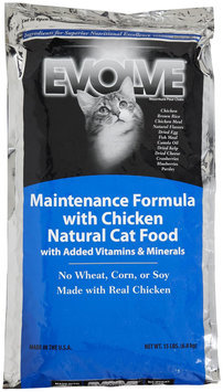 Triumph Pet-sunshine Mill Triumph Pet - Evolve Maintenance Chicken Formula - Cat Food 15 Lb