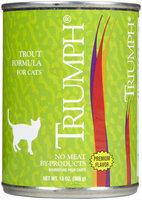 Triumph Pet-sunshine Mill Triumph Trout Formula Canned Cat Food, 12 count, 13 oz