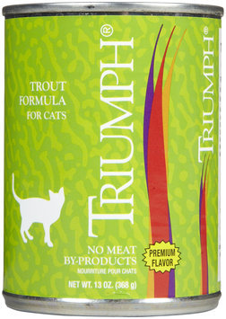 Triumph Pet-sunshine Mill Triumph Trout Formula Canned Cat Food, 12 count, 13 oz