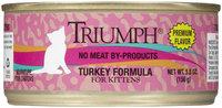 Triumph Turkey Kitten Food