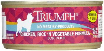 Triumph Chicken, Rice & Vegetables Dog Food