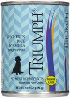Triumph Chicken & Rice Puppy Food