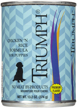 Triumph Chicken & Rice Puppy Food